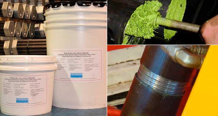 Anti-galling thread compound