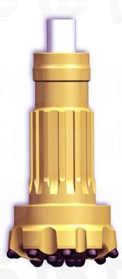Drill Bit QL 60 DTH-RH450-6in Concave face / Ballistic button (159mm  61/4inch)