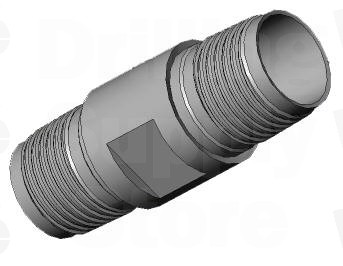RC 4in/102 mm Saver Sub Pin to 4-1/2in