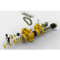Coring Drill Head Assembly