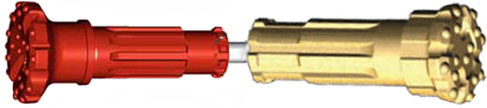 Reverse Circulation Hammers Bits